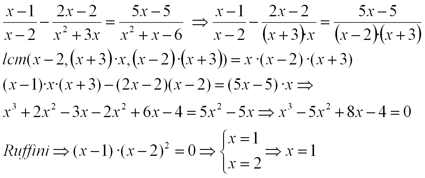 rational equations | algebra